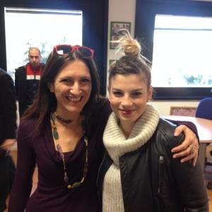 con Emma Marrone Martedi'17 12 2013