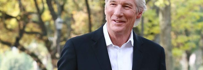 WCENTER 0SPMBEPBNK Foto: Stefano Colarieti / LaPresse spettacolo Roma, 14.12.2015, Casa Del Cinema, photocal per il film 'Franny' nella foto: Richard Gere ph Stefano Colarieti / Lapresse entertainment Rome, 14.12.2015 Casa del Cinema, photocall for 'Franny' in the picture. Richard Gere