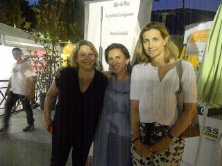 Lucrezia Agnes, Orietta Cicchinelli e Valeria Pini