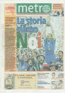 Metro Lunedì 10 07 2006