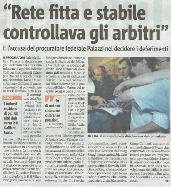 Metro Venerdì 23 06 2006