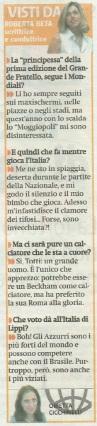 Metro Venerdì 30 06 2006