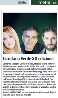 Metro Roma Mercoledì 09 09 2015