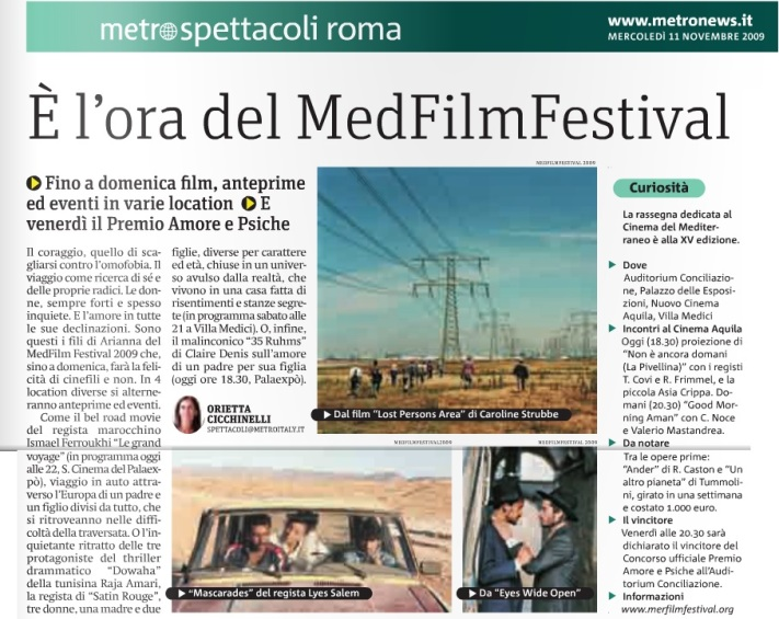 Metro Roma Mercoledì 11 11 2009