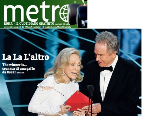 Metro Martedì 28 02 2017