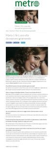 www.metronews.it Giovedì 20 04 2017 - Intervista a José Maria Siri
