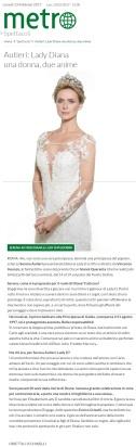 www.metronews.it Lunedì 13 02 2017 - Intervista a Serena Autieri