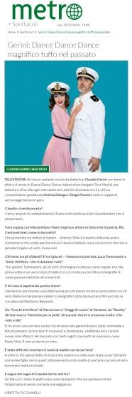 www.metronews.it Lunedì 19 12 2016