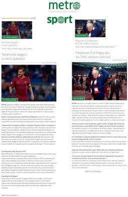 www.metronews.it Venerdì 23 09 2016
