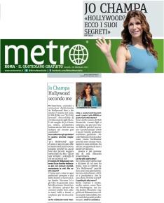 Metro Lunedì 20 02 2017 - Intervista a Jo Champa