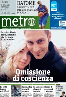 Metro Martedì 31 05 2016