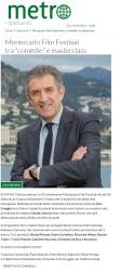 www.metronews.it Giovedì 22 02 2018 - Presentazione del Montecarlo Film Festival