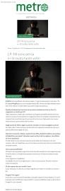 www.metronews.it Martedì 06 12 2016 - Intervista a Lp