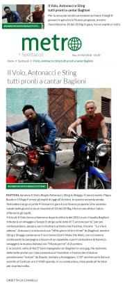 www.metronews.it Mercoledì 07 02 2018 - Presentazione della sseconda serata di Sanremo 2018