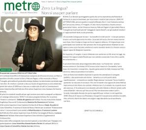 www.metronews.it Venerdì 06 03 2015
