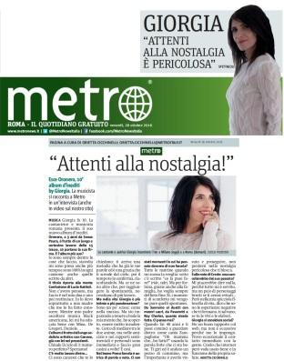 Metro Venerdì 28 10 2016