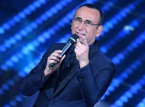 Sanremo: la seconda serata; Carlo Conti