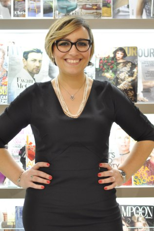 La giornalista Barbara Molinario