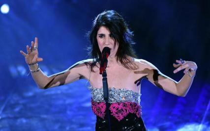Sanremo: seconda serata; Giorgia