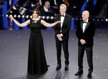 Claudio Baglioni, Virginia Raffaele e Claudio Bisio