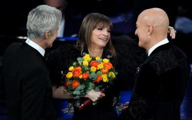 Claudio Baglioni, Alessandra Amoroso e Claudio Bisio